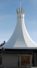 Image for Our Lady Queen of Peace Church steeple - Calgary, Alberta
