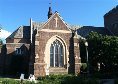 Mercyhurst University Campus Map.Christ The King Chapel Mercyhurst University Erie Pa Roman