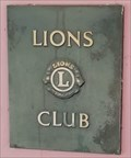 Image for Lions Club Marker - Kurhaus - Bad Krotzingen, Germany, BW