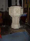 Image for Baptismal Font - St.Mary the Virgin, Broadwater Lane, Aston, Hertfordshire. SG2 7EN