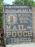 Image for A.B. Cummings & Blogh Brothers Ghost Sign, Jonesborough, Tennessee
