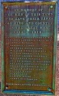 Image for Soldiers Cenotaph - Digby, NS