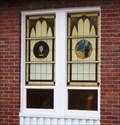 Image for Small stained glass windows - St. Mark's Episcopal, Chenango Bridge, NY