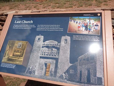 Indian Pueblo - Pecos, Santa Fe County, New Mexico, USA.