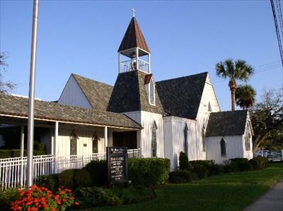 St Mary S Episcopal Church Daytona Beach Fl This Old On Waymarking