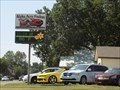 Image for Alpha Auto Finders Time/Temp sign - Stillwater, OK