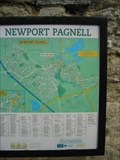 Image for Newport Pagnell - visitors sign