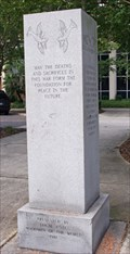 Image for Vietnam War Memorial, old courthouse grounds downtown, Gainesville, FL, USA