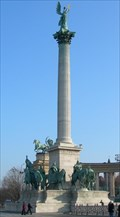 Image for Heroes' Square Corinthian Column - Budapest, Hungary