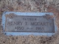 Image for 105 - Henry T. McCarty - Rose Hill Burial Park - OKC, OK