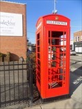 Image for Red Telephone Box - Tulsa, OK
