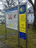 """Image for Orientierungstafel """"Jakobsweg"""" - Weissenstadt am See/BY/Deutschland"""