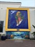"""Image for """"'Surfing Madonna' Mosaic in Encinitas Removed"""" - Encinitas, CA"""