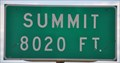 Image for Summit ~ Elevation 8020 Feet