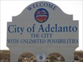 Image for Welcome to Adelanto, California