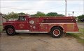 Image for GMC Fire Truck - Route 66 - Shamrock, Texas, USA.
