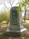 Image for Lucius Fisher Monument relief - Graceland Cemetery, Chicago, IL