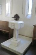 Image for Holy Water Font - St. Andrew's Parke Chapel - Honolulu, Oahu, HI
