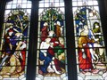 Image for St Woolos Cathedral - Stained Glass Windows - Newport, Gwent, Great Britain.
