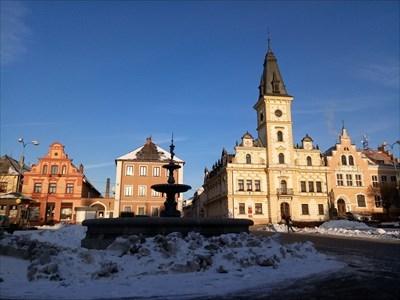 Town Fountain - Hodkovice nad Mohelkou, Czech Republic