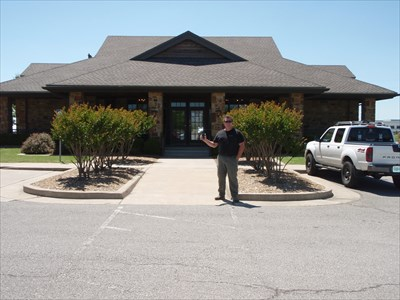 Gredgeman at the visitor center