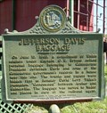 Image for Dickison and His Men/Jefferson Davis Baggage Historical Marker - Waldo, FL