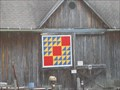 Image for Cut Glass Dish Barn Quilt - Holley, New York