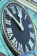 Image for Squire Law Library Clock - Downing Street, Cambridge, UK