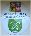 Image for Znak obce Olomucany - Czech Republic
