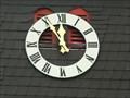 Image for Clock at St. Antonius Church in Berg - RLP / Germany