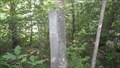 Image for 'W 39'  B&M RR milestone - Rindge, NH