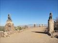 Image for San Xavier del Bac Cast Iron Lions - Tucson, AZ