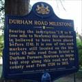 Image for Durham Road Milestone - Newtown, Pennsylvania