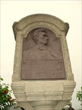 Image for Abraham Lincoln - Eighth Judicial District Tazewell / Woodford County Line Marker  - Washington, IL