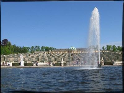 Sanssouci Main Fountain