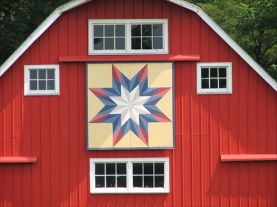 Image result for barn quilt photo + Lone Star Quilt