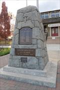 Image for Oliver War Memorial - Oliver, British Columbia