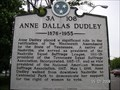 Image for Anne Dallas Dudley
