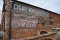 Image for Old Cigar Warehouse Coca-Cola Sign - Greenville, SC