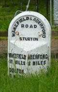 Image for Milestone - Aberford Road, Sturton, Yorkshire, UK.