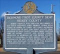 Image for Richmond - First County Seat of Henry County/Richmond, First County Seat of Dale County - Midland City, AL