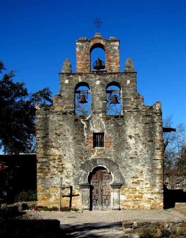 Mission San Francisco De La Espada Bells San Antonio