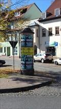Image for Litfaßsäule 'Straße des Friedens' - Stadtroda/THR/Germany