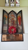 Image for Roll of Honour - St Michael - Whichford, Warwickshire