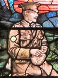 Image for WW1 Memorial Window - St Sannan's Church - Bedwellty, Wales, UK.