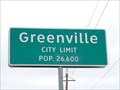 Image for Greenville, TX - Population 26,600