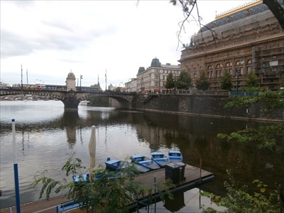 Two Bygone Toll Houses - Prague