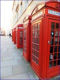 Image for Red Telephone Boxes - Broad Court, London, UK