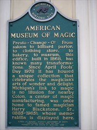 American Museum of Magic marker
