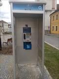 Image for Payphone / Telefonni automat - nam. T. G. Masaryka, Bechyne, Czech Republic